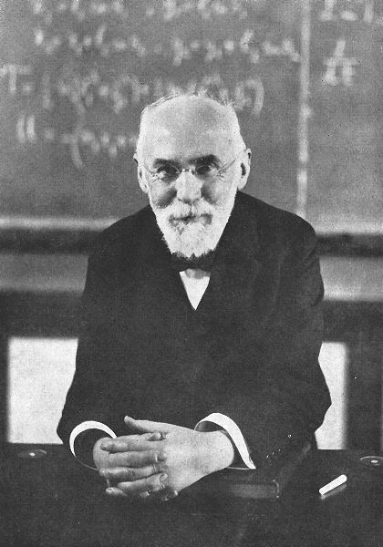 Hendrik Lorentz being a badass